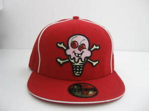 NEW ERA 59fifty   ICE CREAM  BBC  BASEBALL CAP  LIMITED  red