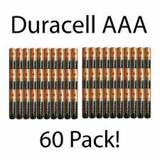 60-Pack Duracell AAA Alkaline batteries