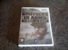 Brothers in Arms Earned In Blood for Nintendo Wii PAL New and Sealed