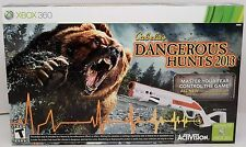 NEW XBox 360 Cabela's Dangerous Hunts 2013 Hunting GAME + GUN Bundle top shot