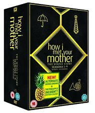 HOW I MET YOUR MOTHER COMPLETE SERIES SEASON 1-9 DVD BOXSET R2