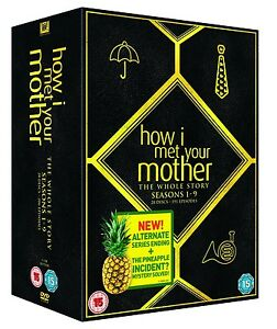 HOW I MET YOUR MOTHER COMPLETE SERIES SEASON 1-9 DVD BOXSET NEW & SEALED