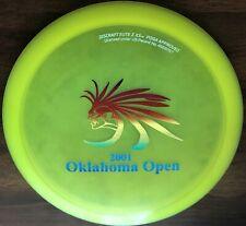 Rare 2001 Oklahoma Open 1st Run Elite Z Xs 164.8 G Discraft Disc Golf Oop New