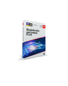 Bitdefender Antivirus Plus 2021 - 1 PC / 1-Year - CD
