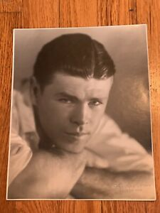 Clean Original 1920s, Mickey Walker Type 1 Boxing Photo Mint P4P Great