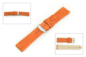 RETRO LEATHER WATCH  STRAP BAND V-STRAP SUEDE V-TWISTER 18, 20, 22, 24 MM us
