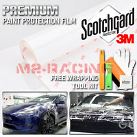*3M Scotchgard Hood Bumper Clear Paint Protection Bra Film Vinyl Wrap Decal 6""