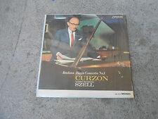 BRAHMS-CURZON-SZELL-PIANO CONCERTO #1-LP-VINYL-LONDON CM 9329-MONO-IMP-UK-NM