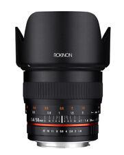 Rokinon 50mm F1.4 Full Frame High Speed Lens (Nikon F)