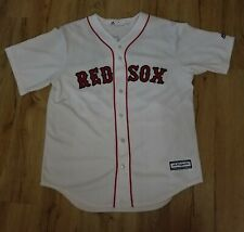 Boston Red Sox JD Martinez Majestic Home White Cool Base Jersey men's size-Large