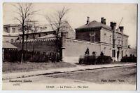 Ypres, Belgie / Belgique / Belgium vintage Postcard CPA - La Prison / The Gaol