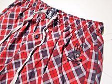 Psycho Bunny men's pajama pants plaid size medium
