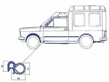 Guarnizione vano porta dx e sx Fiat 127 Fiorino