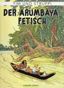 Tim und Struppi von Hergé * Farbfaksimile * Band 5: Der Arumbaya-Fetisch * Z1