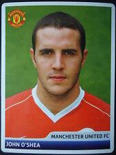 Panini 63 John O'Shea Manchester United UEFA CL 2006/07