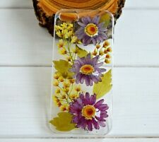 phone cases pressed flower Samsung S7 S8 S9 S10 iphone 6 7 X XS XSMAX XR cover