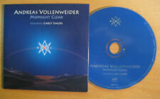 ANDREAS VOLLENWEIDER CARLY SIMON Mignight clear 14-track PR0M0 CD Card sleeve