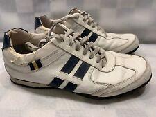 STEVE MADDEN Sequell Sneakers Men's Size 9 White Blue 2005