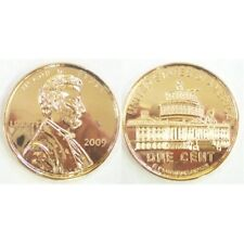 LINCOLN 2009 WHITE HOUSE  PENNY JUMBO 3 INCH COIN - PAPERWEIGHT NEW 70949