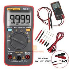 AN8008 True-RMS Digital Multimeter 9999 Counts Square Wave Voltage Ammeter New