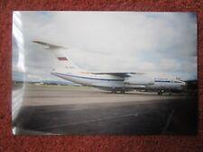 1995 WAYNE CLUITT PHOTO AVION AIRCRAFT ILYUSHIN IL-76MD RA-78840 AEROFLOT