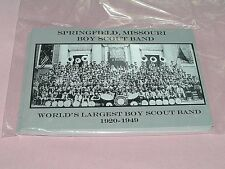 World Largest Boy Scout Band Postcard BSA Missouri Post Card Scouting