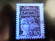 Timbre France Variété marianne de luquet N°3086 oblitéré ss pho