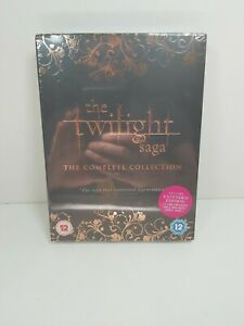 The Twilight Saga Complete Collection DVD 2013 5-Disc Box-Set New Sealed