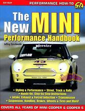 MINI HANDBOOK PERFORMANCE BOOK COOPER S MANUAL ENGINE SUSPENSION BRAKES RACING