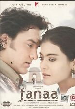 fanaa - aamir Khan , kajol   [2 Dvd set]  Yashraj Released - Collector's Edition
