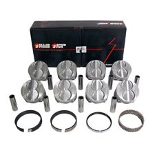 Speed Pro FMP H273CP30 SBFord 289 302 Flat Top Pistons + Moly Rings Kit 4.030""