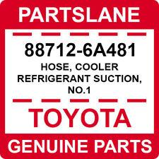 88712-6A481 Toyota OEM Genuine HOSE, COOLER REFRIGERANT SUCTION, NO.1