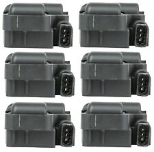 Set of 6 Delphi Direct Ignition Coils for Chrysler Crossfire Mercedes W203 C208
