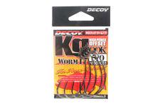 Decoy Worm 17KG High Power Offset Worm Hooks Size 5/0 (8061)