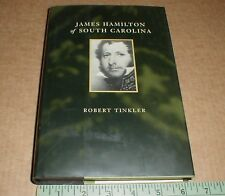 James Hamilton South Carolina History Biography SIGNED w/ lessons of debt 1800s