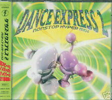 DANCE EXPRESS 2 Nonstop Hyper Mix - Japan CD - NEW