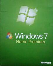 Windows 7 Home Premium w/SP1 64 Bit Full Version DVD License Product Key