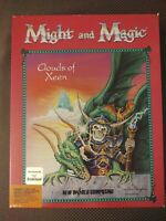 Might And Magic Clouds Of Xeen Big Box IBM PC Interplay Vintage Game W Clue Book