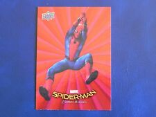 2017 UD Spider-Man Homecoming RED FOIL RB-8 Spider-Man WALMART EXCLUSIVES