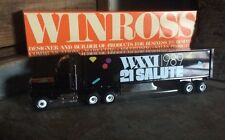 Vintage Die Cast Winross Collectible Advertising Tractor - Trailers , WXXI 1989