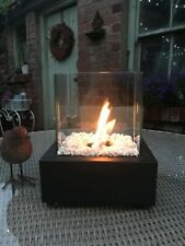 More details for bio ethanol cube fireplace patio heater fire pit indoor outdoor table top burner