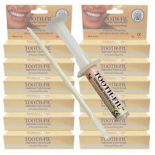 DR Denti Temporaneo Denti Dente Dentale di emergenza Riparazione Riempimento Cura Kit 12 Pack