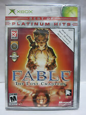 XBOX Fable: The Lost Chapters Platinum Hits Original XBOXBrand New Sealed