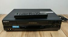 New listing Sony Slv-N55 Hi-Fi Stereo Vcr Vhs Video Cassette Recorder w/ Remote Control