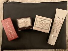 Fresh Gift Set - Rose/Black Tea Firm Cream/Rose Mask/Soy Cleanser/Bag $42 Value!