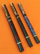 3-WATERMAN BALLPOINT PEN AND FOUNTAIN PEN LOT VERY NICE GROUP OF 3 VINTAGE