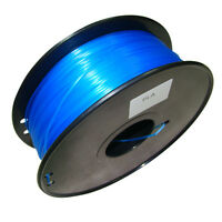 Fluorescent colors 3D Printer Filament PLA/ABS 1kg/2.2lb 1.75mm/3mm MakerBot