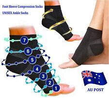 Foot Sleeve Plantar Fasciitis Compression Socks Support Swelling Heel Ankle BO