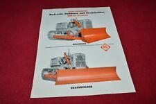 Allis Chalmers HD-11 Crawler Tractor Gradebuilder Dealers Brochure YABE14