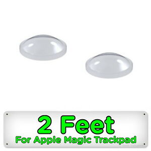 2 Rubber Feet for Apple Magic Trackpad Wireless Touchpad Spare Replacement Foot